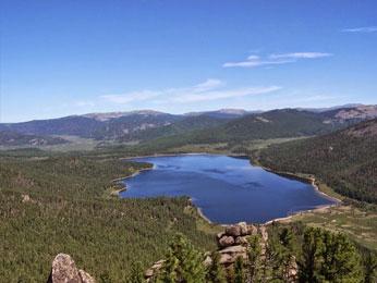 ハギーンハル湖(ハギーン黒湖)