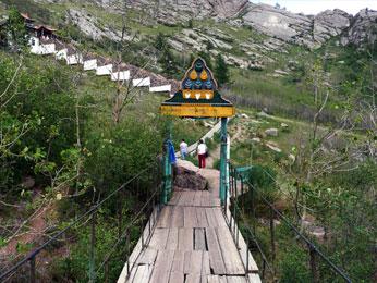 チベット仏教のアリヤバル寺院